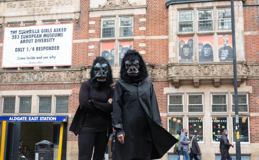 Why you need to go and see the Guerrilla Girls exhibition at the Whitechapel Gallery