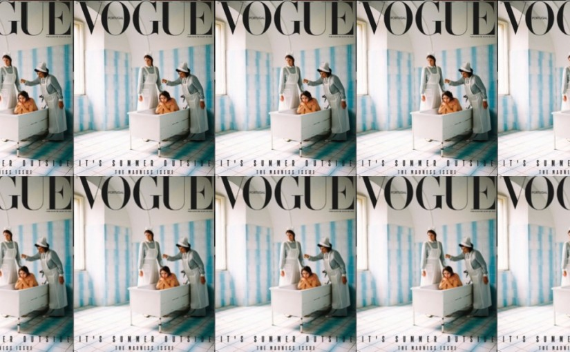 """Vogue Portugal's Latest Cover Reveals Fashion's Problem with the Aestheticisation of the """"MadWoman"""""""