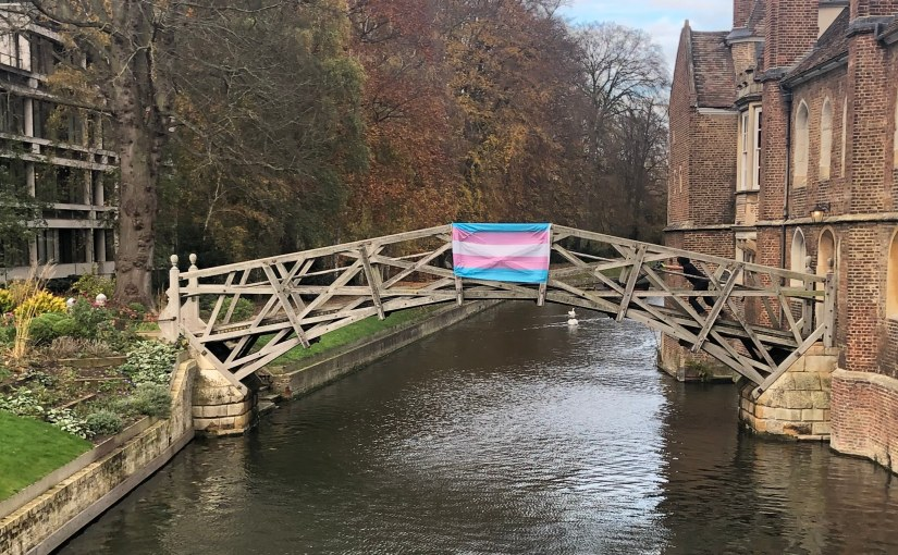 Queens' LGBT Officer's take on the Trans Flag incident